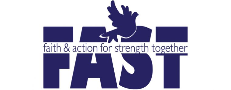 FAST - Faith & Action for Strength Together Logo