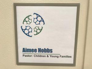 Aimee Hobbs Door Sign