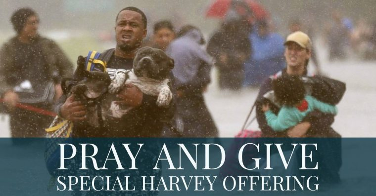 Pray & Give: Special Harvey Offering